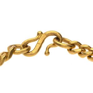 24K Classic 7″ Figaro Link Bracelet
