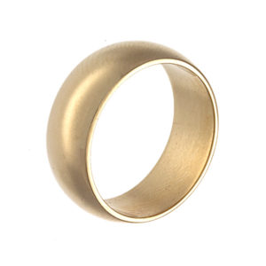 14K Yellow Gold 6.9mm Wide Classic Style Wedding Band