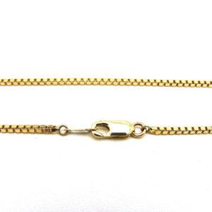 10K Yellow Gold 16.75″ Classic Box Link Chain
