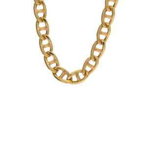 18K Yellow Gold 20″ Marine Link Chain