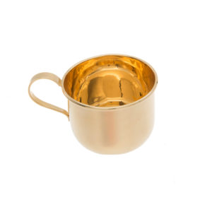Stunning 14K Yellow Gold 47mm Cup