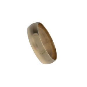 10K Yellow Gold 6.7mm Band Style Ring
