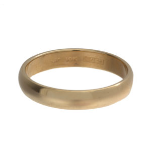 10K Yellow Gold 4.7mm Band Style Ring