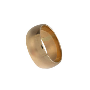 9CT Yellow Gold 10.5mm Band Style Ring