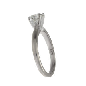 Effy 14K White Gold .70CT Diamond Solitaire Engagement Ring