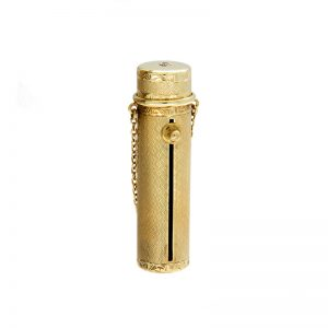 Vintage 14K Yellow Gold Tiffany & Co. Lipstick Holder