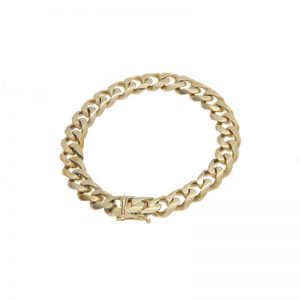 14K Yellow Gold 8.5″ Curb Link Bracelet
