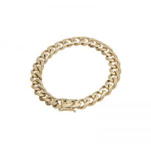 14K Yellow Gold 8.5″ Curb Link Bracelet