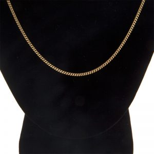 10K Yellow Gold 20″ Curb Link Chain