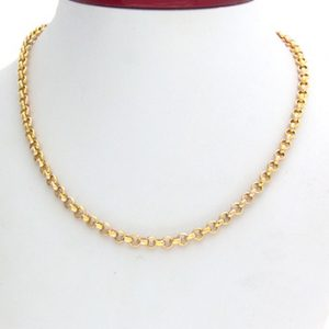 10K Yellow Gold 18″ Rolo Link Chain