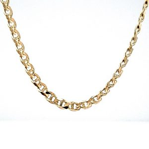 10K Yellow Gold 20″ Marine Link Chain