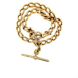 18K Yellow Gold 8″ Pocket Watch Chain