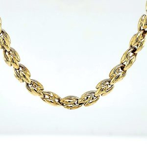 Chimento 18K Yellow Gold 25.5″ Stylized Link Chain
