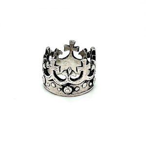 Sterling Silver Kings Coronation Ring